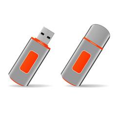 USB flash storage