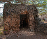 Remains of Takwa  in the Lamu District in Kenya