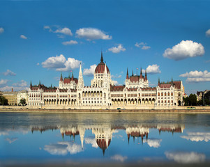 The Hungarian Parliament Building, Budapest, UNESCO WH