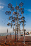 Thessaloniki umbrellas sculpture, 2014