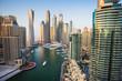 Leinwanddruck Bild - Dubai Marina. UAE