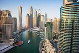 Dubai Marina. Zjednoczone Emiraty Arabskie