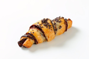 Chocolate chip crescent roll