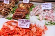 Seafood in Spain - Valencia market