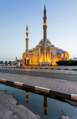 Al Noor Mosque, UAE.