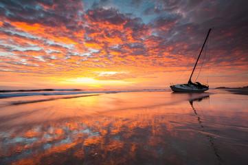North Carolina Cape Hatteras National Seashore Shipwreck