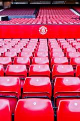 MANCHESTER, ENGLAND : Old Trafford stadium