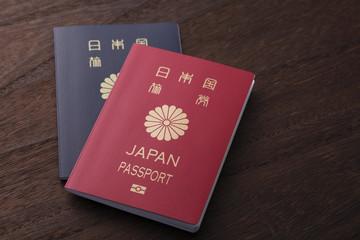 新婚旅行にパスポート