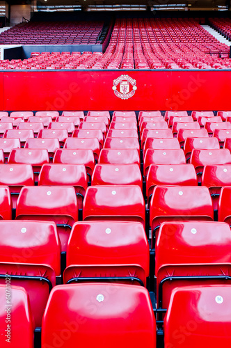 Poster Stadion MANCHESTER, ENGLAND : Old Trafford stadium