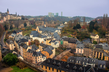 View of Luxembourg