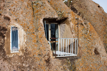 Cave house in village Kandovan, Iran