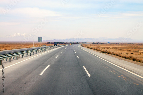 Highway in central Iran
