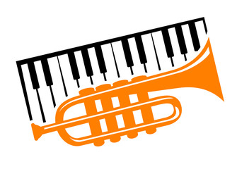 Piano and trumpet