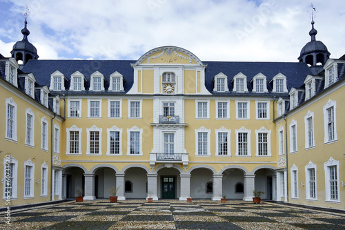 Front view of Schloss Oranienstein in Germany