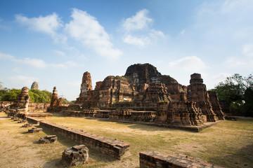 Wat Mahathat Temple in Ayutthaya, Thailand.