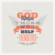 Quote Typographical Background. Vector design