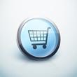icône bouton internet achat panier