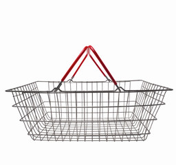 wire supermarket shopping cart