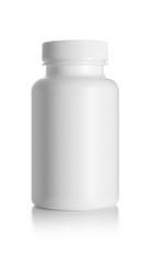 Blank medicine bottle