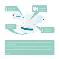 Diaper infographic