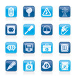 Electricity,power and energy icons - vector icon set