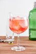 Red berry tea gintonic