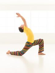 Virabhadrasana posture