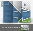 Travel Tri-Fold Mock up & Front Brochure Design.