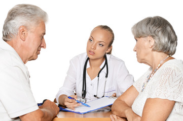 Patients visiting doctor