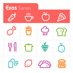 Food Icons Exos Series