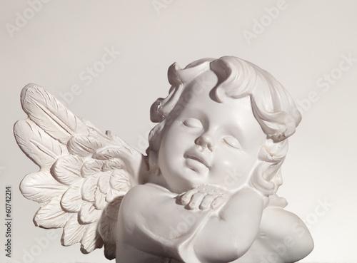 Keuken foto achterwand Begraafplaats Dreaming angel