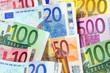 diverse Euronoten