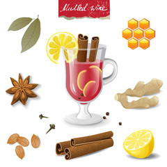 mulled wine icons