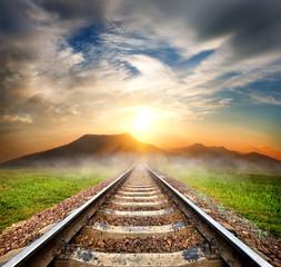 Railroad to the mountains