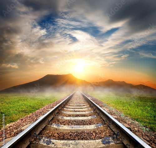 Railroad to the mountains