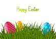 Easter card with place for text