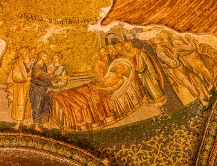 Mosaic in Chora Church