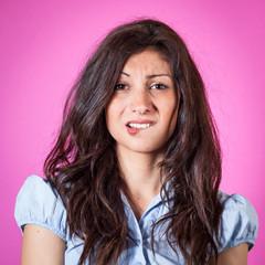 Beautiful Teen Brunette Portrait