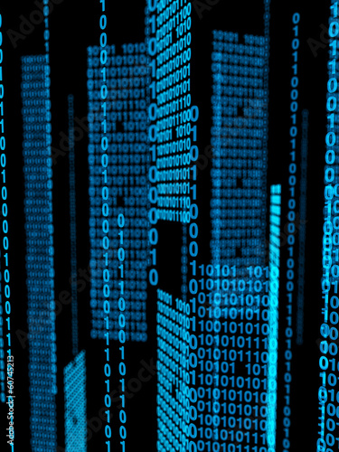 background illustration of binary code