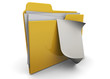 Document Folder - 3D