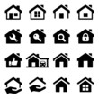 house iconset - 60746646