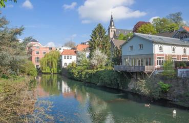 die schöne Altstadt von Kettwig an der Ruhr