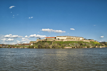 Petrovaradin fortress in Novi Sad, Serbia.