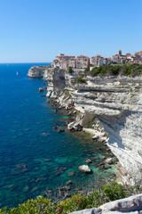 Bonifacio city, Corsica , France.