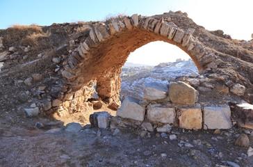 The view from  Kerak Fortress, Jordan