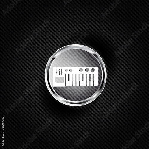digital piano synthesizer icon
