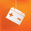 Car battery icon - 60750886