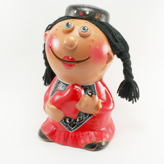 Figurine of tatar woman