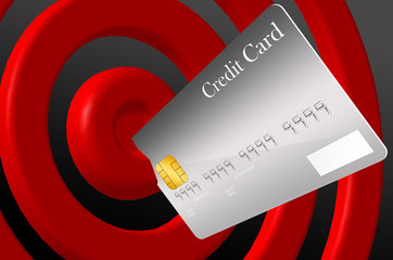 Get everything by your credit card.