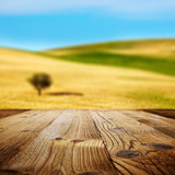 wood textured backgrounds on the tuscany landscape
